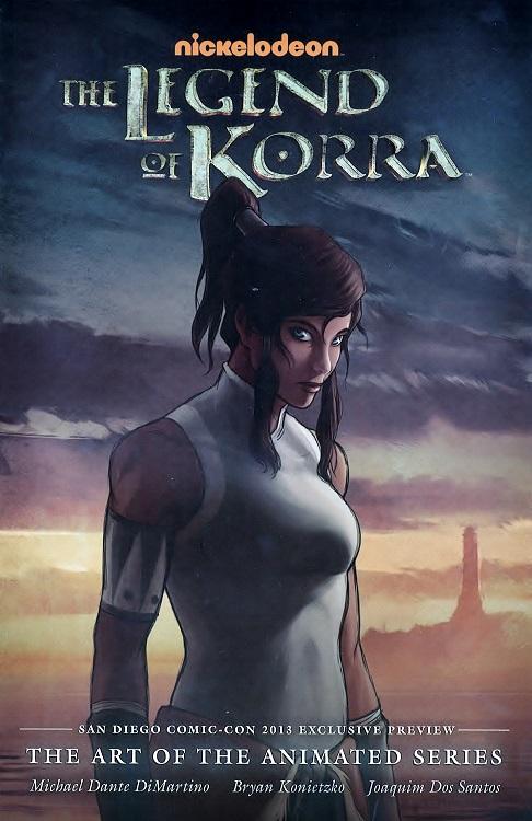 Legend of Korra artwork promo
