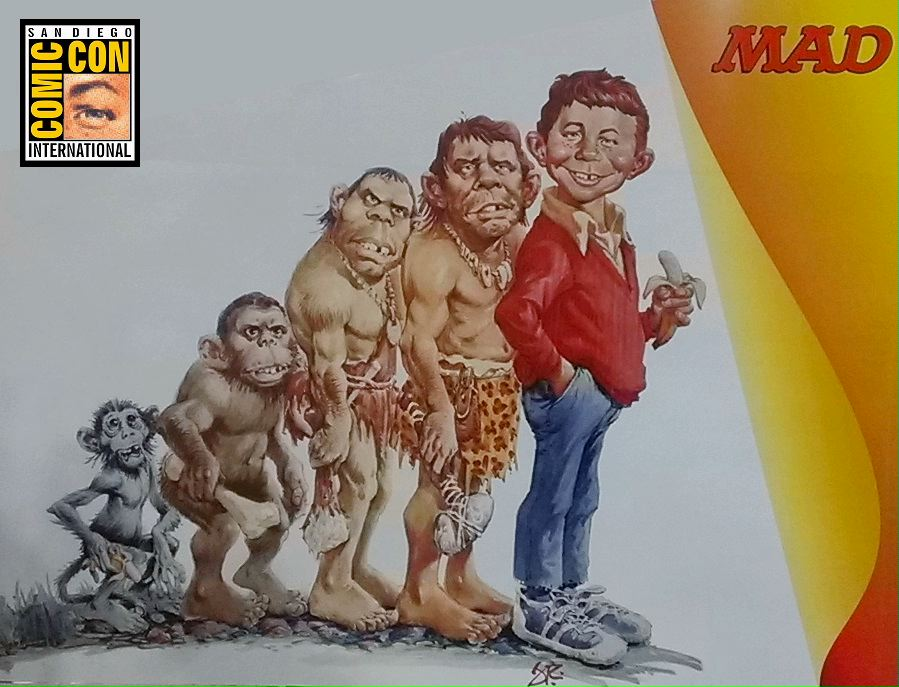 Alfred E. Neuman and Human Evolution