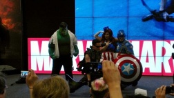 Various Marvel Comics Cosplayers at Comic-Con 2013