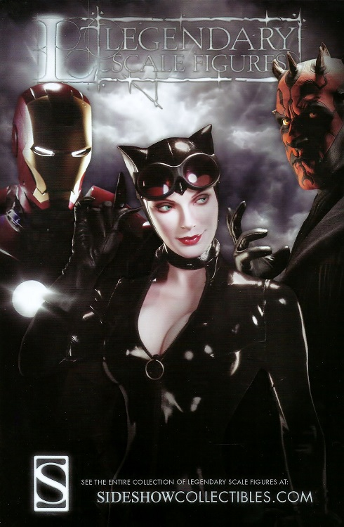 Promo Sheet for Sideshow Collectibles