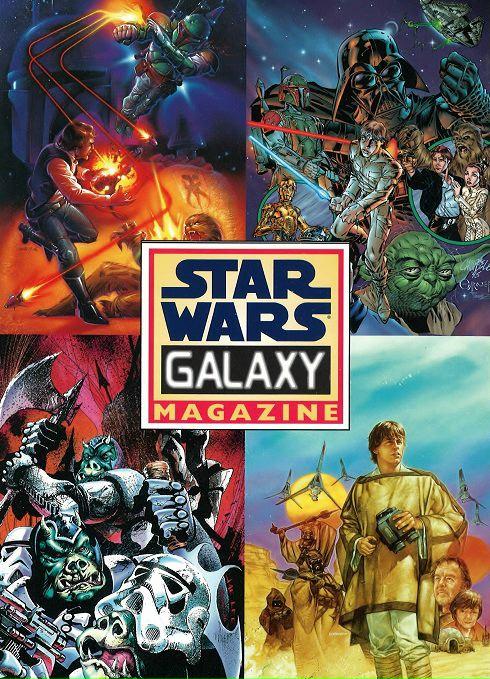 Star Wars Galaxy Magazine Promo Card Sheet