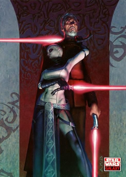 Star Wars Galaxy Trading Card, Count Dooku