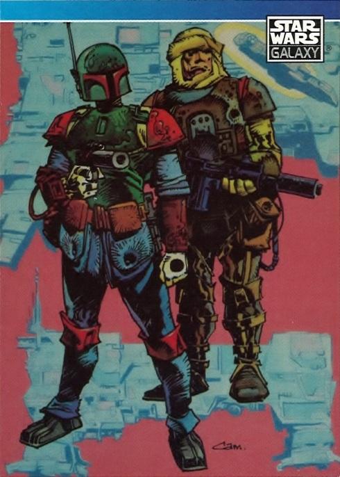Star Wars Galaxy Trading Card, Bounty Hunters by Cam Kennedy