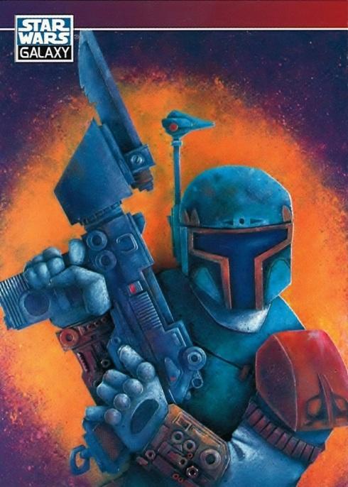 Star Wars Galaxy Trading Card, Boba Fett