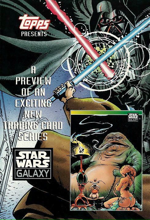 Star Wars Galaxy Promo Card Sheet by Sam Kieth