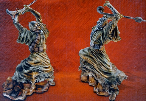 Tusken Raider Statues