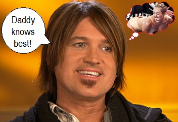 Billy Ray Cyrus and his hair