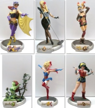 DC Collectibles Bombshells Statuettes