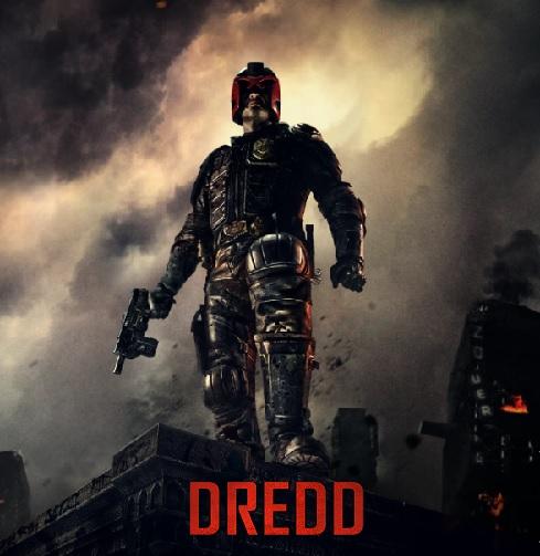 Dredd Movie Title Poster
