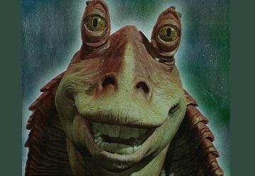 Annoying Star Wars character Jar Jar Binks