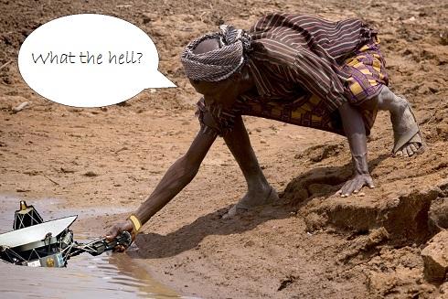 Kenyan Man by the River