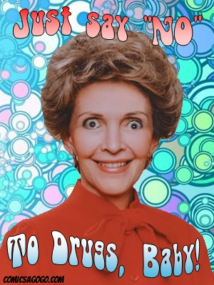 Nancy Reagan satire
