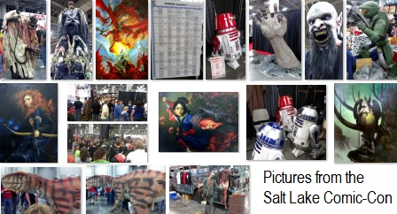 Pictures from the Salt Lake Comic-Con
