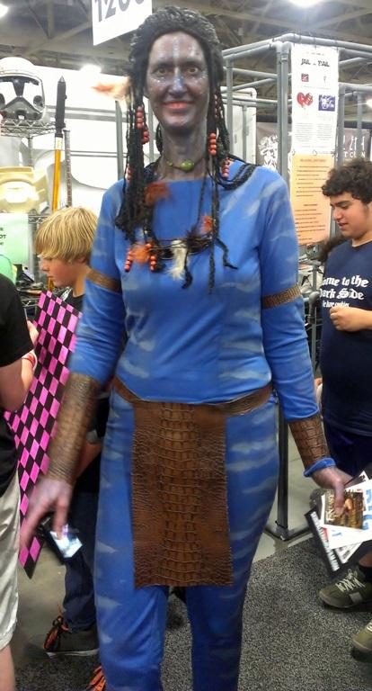 Avatar Grace Cosplayer, Salt Lake Comic-Con