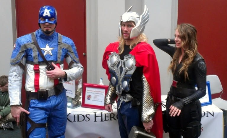 Avengers Cosplayers, Salt Lake Comic-Con