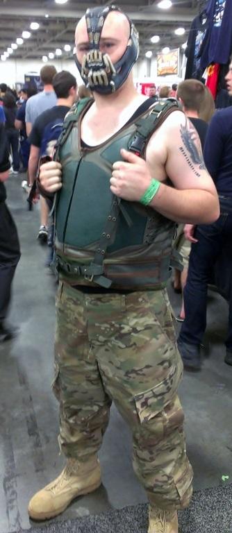 Bane Cosplayer, Salt Lake Comic-Con