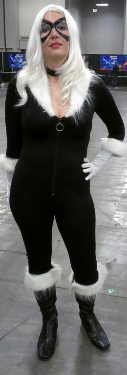 Black Cat Cosplayer, Salt Lake Comic-Con