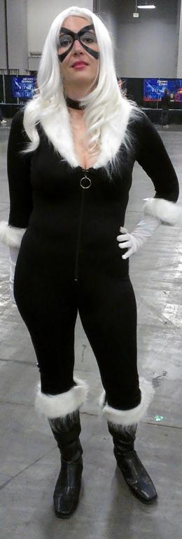 Black Cat Cosplayer, Salt Lake Comic-Con