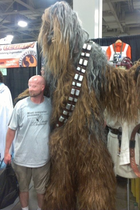 Chewbacca Cosplayer, Salt Lake Comic-Con