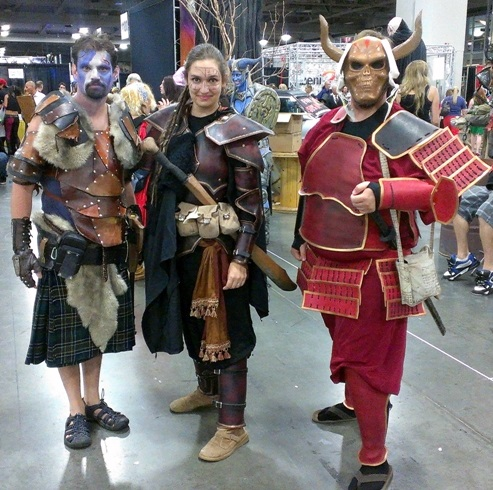 Cosplayers, Salt Lake Comic-Con