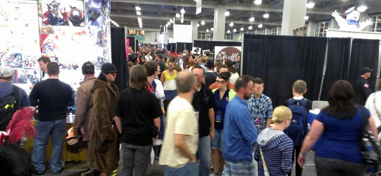 More crowds at Salt Lake Comic-Con