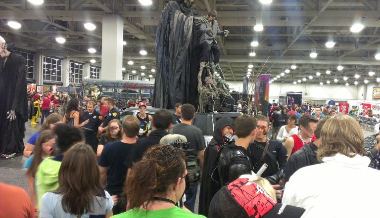 Crowds at Salt Lake Comic-Con