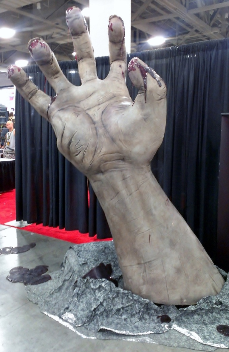 Fear Factory hand at Salt Lake Comic-Con