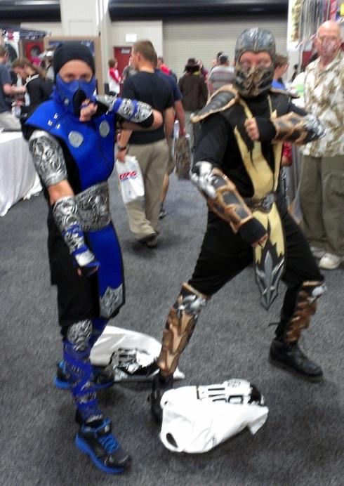 Cosplayers, Salt Lake Comic-Con