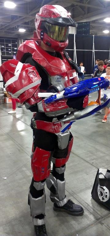 Halo Cosplayer, Salt Lake Comic-Con
