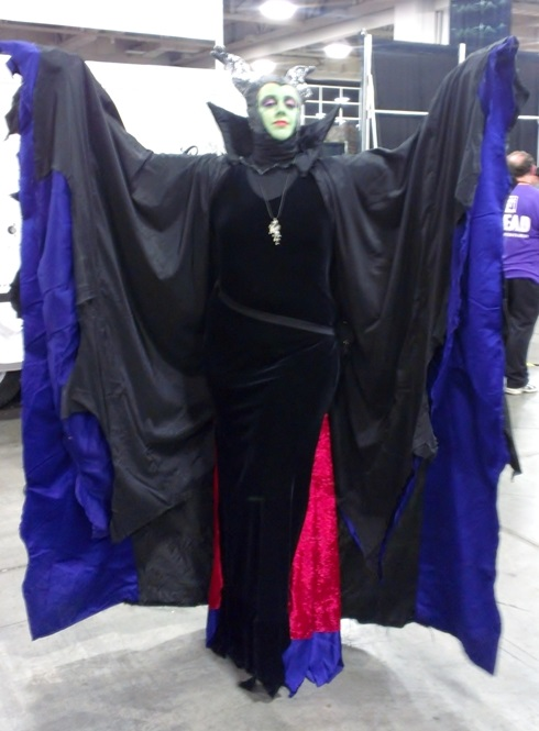 Maleficent Cosplayer, Salt Lake Comic-Con