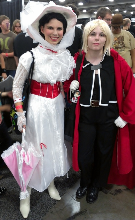 Mary Poppins Cosplayers, Salt Lake Comic-Con