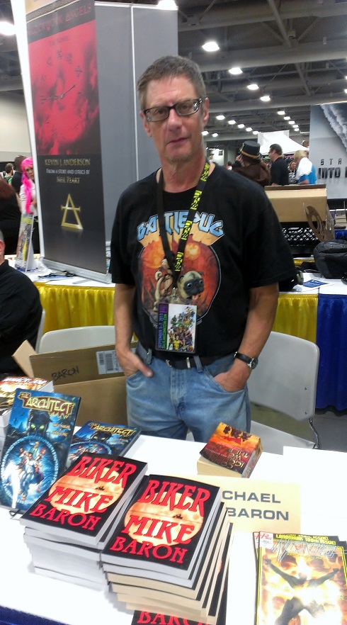 Mike Baron at Salt Lake Comic-Con 2013