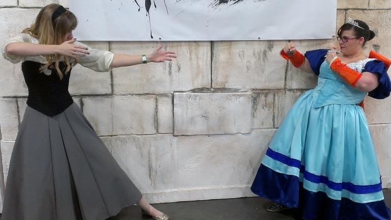 Princess Cosplayers, Salt Lake Comic-Con