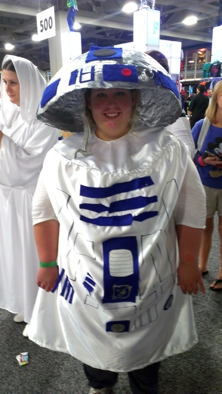 R2D2 Cosplayer, Salt Lake Comic-Con