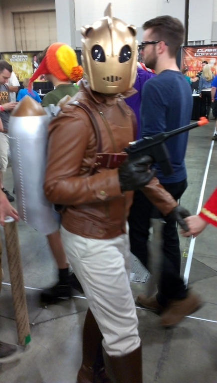 Rocketeer Cosplayer, Salt Lake Comic-Con