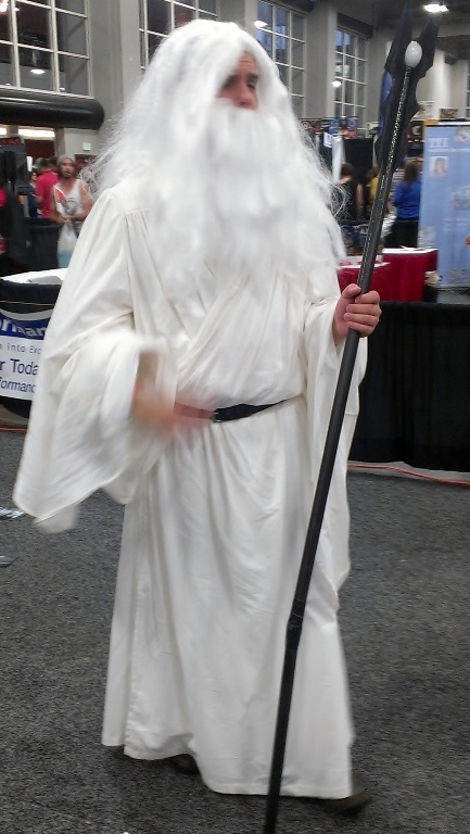 Saruman Cosplayer, Salt Lake Comic-Con