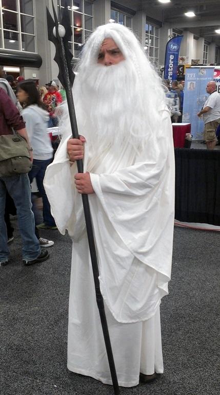 Saruman Cosplayer, Salt Lake Comic-Con