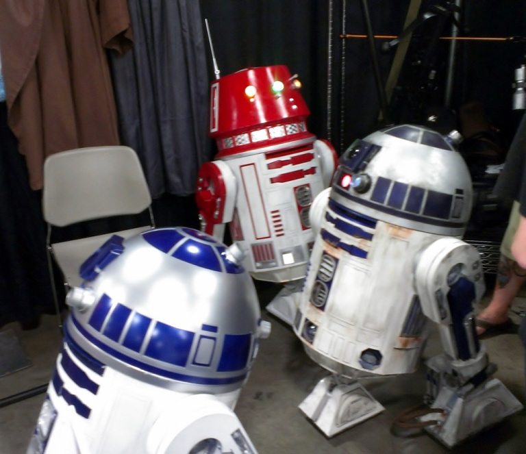 Droids at Salt Lake Comic-Con