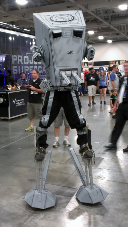 Star Wars AT-ST Cosplay at Salt Lake Comic-Con