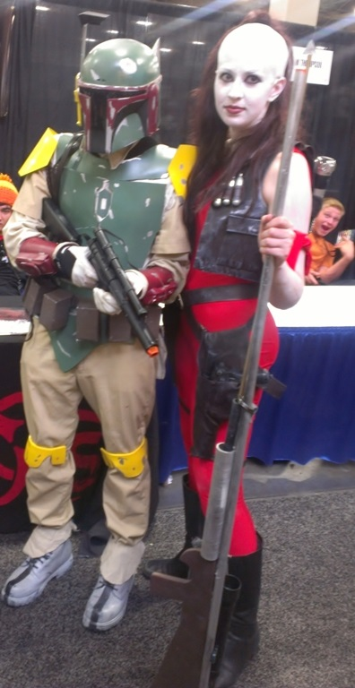 Star Wars Cosplayers, Salt Lake Comic-Con