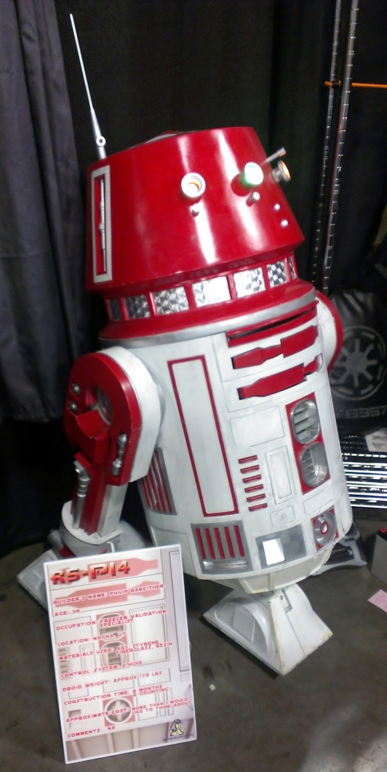 Droid at Salt Lake Comic-Con