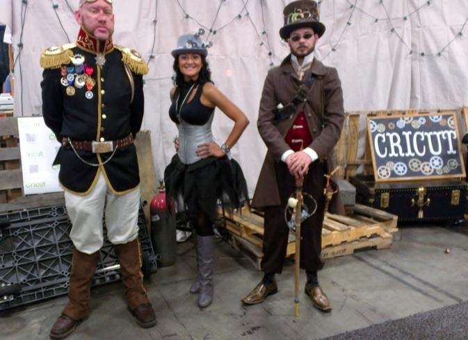 Steampunk Cosplayers, Salt Lake Comic-Con
