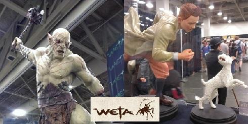 Weta Workshop gallery at Salt Lake Comic-Con