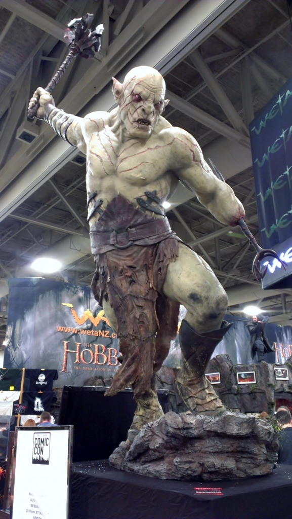 White Orc from The Hobbit, Weta Workshop