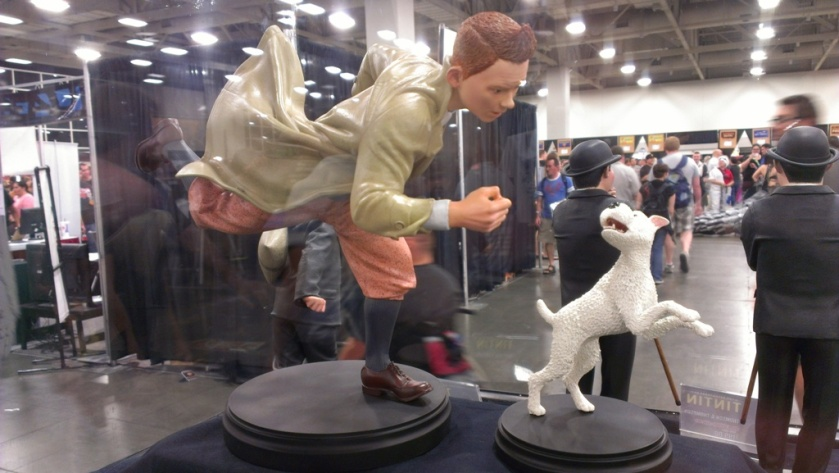 Tintin and Snowy, Weta Workshop