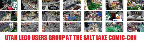 Utah Lego Users Group at Salt Lake Comic-Con