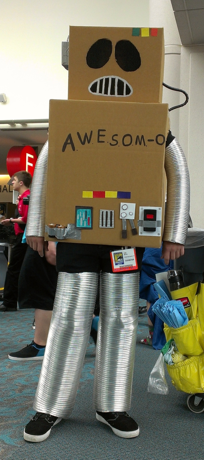 Awesome-O Cosplay