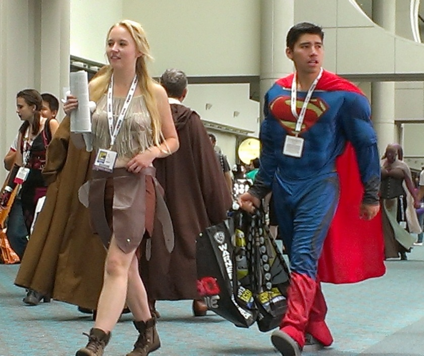 Cosplayers at Comic-Con