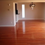 Empty room in a house