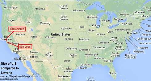 United States compared to Latveria